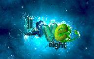 3D Love 107 Desktop Background