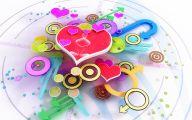 3D Love 17 High Resolution Wallpaper