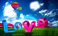 3D Love 3 Desktop Background
