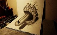 3D Love Drawing 21 Background