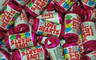 Love Hearts Candy 1 Widescreen Wallpaper