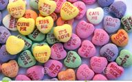 Love Hearts Candy 2 Hd Wallpaper