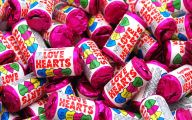 Love Hearts Candy 23 Widescreen Wallpaper