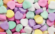 Love Hearts Candy 3 Background