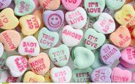 Love Hearts Candy 8 Desktop Background