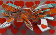 3D Love Art  9 Desktop Background