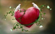 3D Love Birds 25 High Resolution Wallpaper