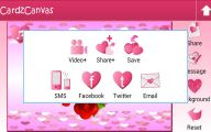 3D Love Cards  38 Widescreen Wallpaper