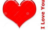 3D Love Heart 1 Background Wallpaper
