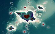 3D Love Heart 3 Desktop Wallpaper