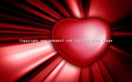 3D Love Heart 4 Desktop Background