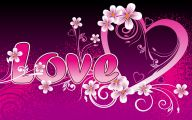 3D Love Heart 5 Hd Wallpaper