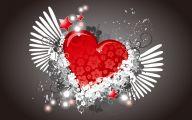 3D Love Heart 9 Free Wallpaper