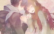 Cute Love Anime  4 Widescreen Wallpaper