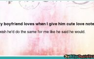 Cute Love Notes  14 Wide Wallpaper