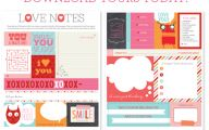 Cute Love Notes  22 High Resolution Wallpaper