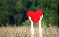 Love Hearts In Nature 42 Background Wallpaper