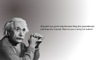 Love Quotes By Albert Einstein 15 Widescreen Wallpaper