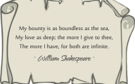 Love Quotes By Shakespeare 2 Desktop Wallpaper