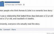 Romantic Love Between Romeo And Juliet  26 Wide Wallpaper