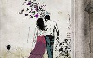 Romantic Love Drawings  19 Wide Wallpaper