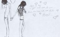 Romantic Love Drawings  22 Desktop Background