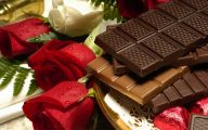 Valentine Chocolate 25 Free Wallpaper
