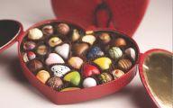 Valentine Chocolate 9 Background Wallpaper