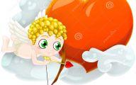 Valentine Cupid  26 Wide Wallpaper