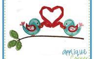 Valentine Love Birds  17 Widescreen Wallpaper