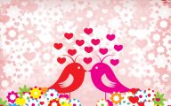 Valentine Love Birds Quotes  6 Widescreen Wallpaper