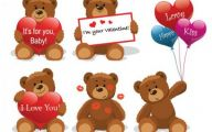 Valentines Bear  10 Widescreen Wallpaper
