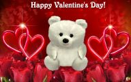 Valentines Bear  13 Wide Wallpaper