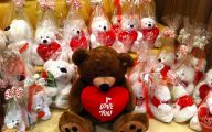 Valentines Bear  2 Wide Wallpaper