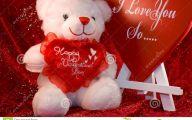 Valentines Bear  4 Free Wallpaper