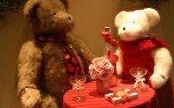 Valentines Bear  8 Wide Wallpaper