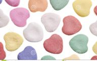 Valentine's Candy Hearts  16 Background Wallpaper