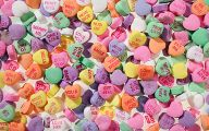 Valentine's Candy Hearts  20 Cool Wallpaper