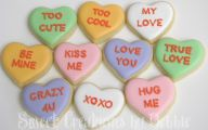Valentine's Candy Hearts  25 Cool Wallpaper