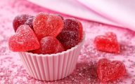 Valentine's Candy Hearts  29 Wide Wallpaper