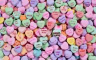 Valentine's Candy Hearts  32 Cool Hd Wallpaper