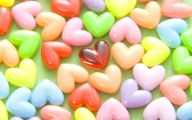 Valentine's Candy Hearts  9 Hd Wallpaper