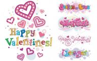 Valentines Clip Art  2 Wide Wallpaper