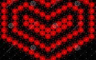 3D Images Love Hearts  3 Widescreen Wallpaper