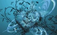 3D Love Heart Wallpaper  1 Wide Wallpaper