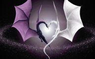 3D Love Heart Wallpaper  6 Wide Wallpaper