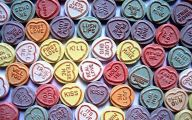 Love Hearts Messages 8 Background