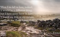 Love Quotes Jane Austen  23 Desktop Background