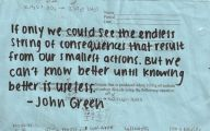 Love Quotes John Green  15 Desktop Background
