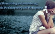 Sad Love Wallpapers With Quotes  2 Background Wallpaper